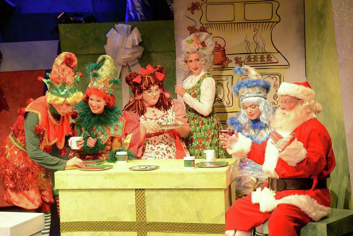 """""""Eleanor's Very Merry Christmas Wish - The Musical,"""" tells the story of a rag doll who lives in the magical North Pole, but longs for a best friend and home of her own. A scene from this acclaimed production, which had its world premiere last year, is seen here. New Haven's Shubert Theatre and Waterbury's Palace Theater are streaming video of """"Eleanor's Very Merry Christmas Wish - The Musical,"""" Nov. 27-Dec. 27."""