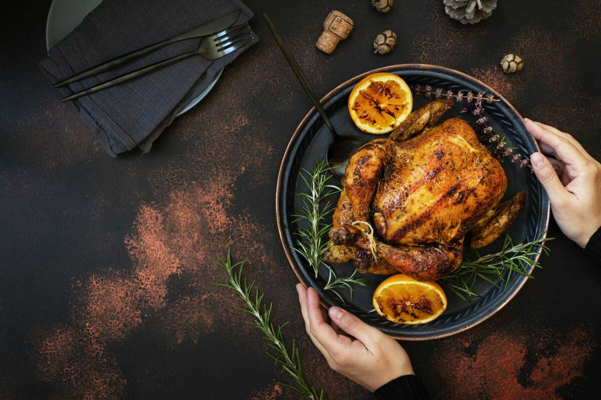 If you're hosting a holiday with a smaller group of people than usual, opt for a chicken or smaller piece of poultry, rather than the 25-pound turkey.