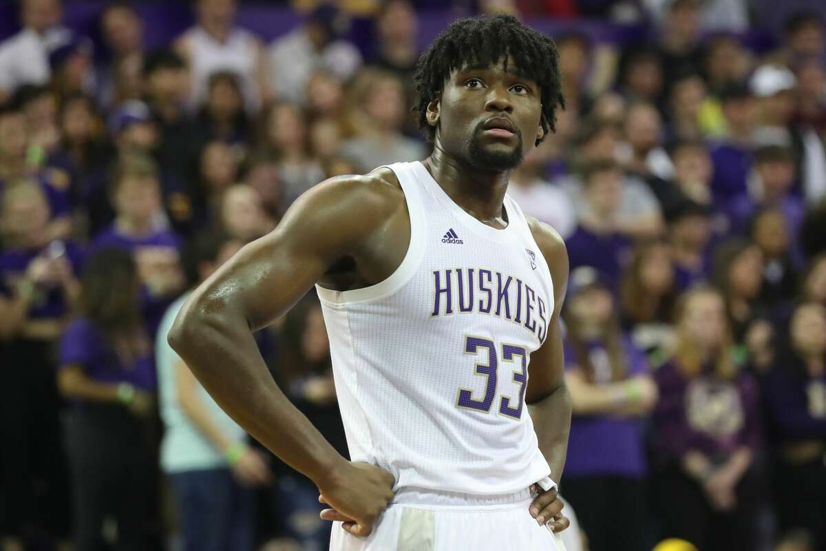 Position: CenterMeasures: 6-9, 250 poundsSchool: University of Washington2019-20 stats (32 games): 17.0 points, 8.8 rebounds, 2.1 blocksConnection to Washington: College Stewart was the Huskies' most consistent force in an underwhelming 2019-20 season, where they finished last place in the Pac-12. The Rochester, New York native was a high-motor, efficient post player for Washington who used his impressive length (7-foot-4 wingspan) and wide shoulders to establish himself as one of the most imposing big men in all of college basketball, despite being just a freshman. Stewart, an All-Pac-12 first-team selection last year, is undersized for his position at the next level and lacks elite mobility. But scouts see an energizer and improving outside shooter in Stewart. ESPN, The Athletic and Bleacher Report project Stewart to be a late first-round pick.