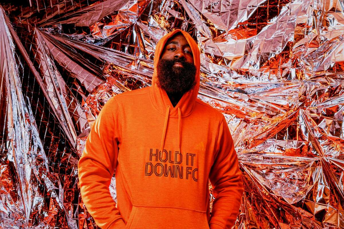 Houston Rockets star James Harden, who is part of the Houston Dynamo FC ownership group.