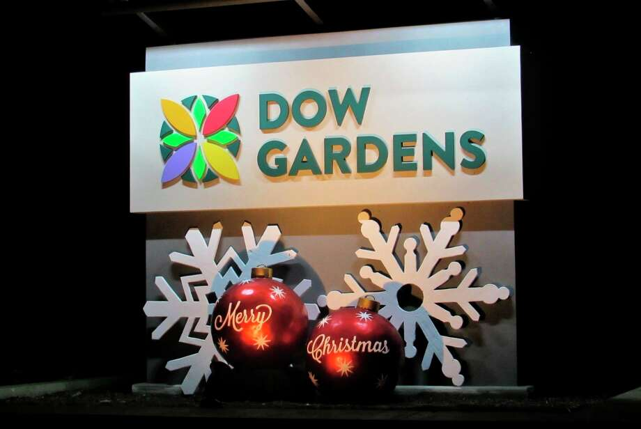 Dow Gardens at Christmas time. (Daily News file photo)