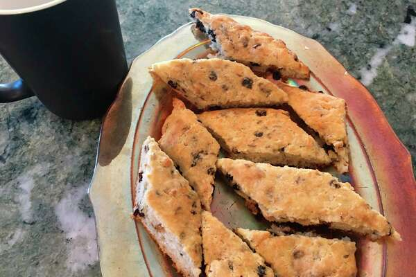 Currant scones (Photo by Donna Frawley)