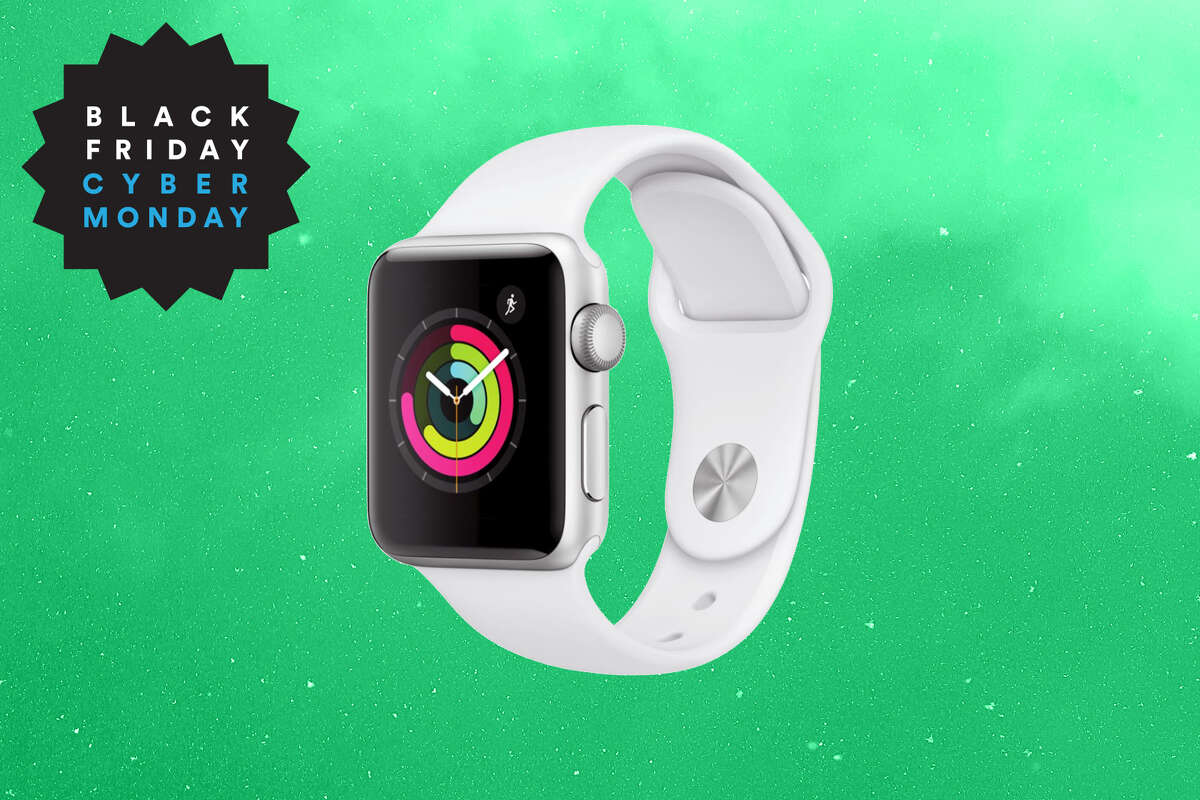 Apple Watch Series 3 GPS - 38mm - Sport Band, $119 at Walmart for Black Friday