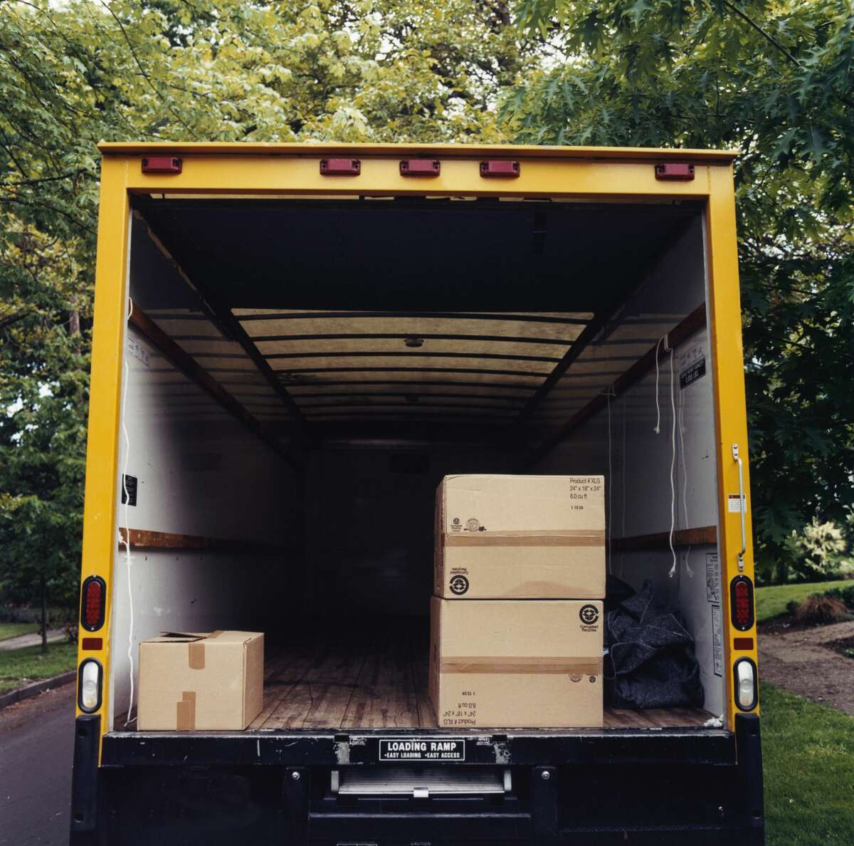 Amid a surge in moving scams, customers have reported unlicensed moving trucks holding belongings