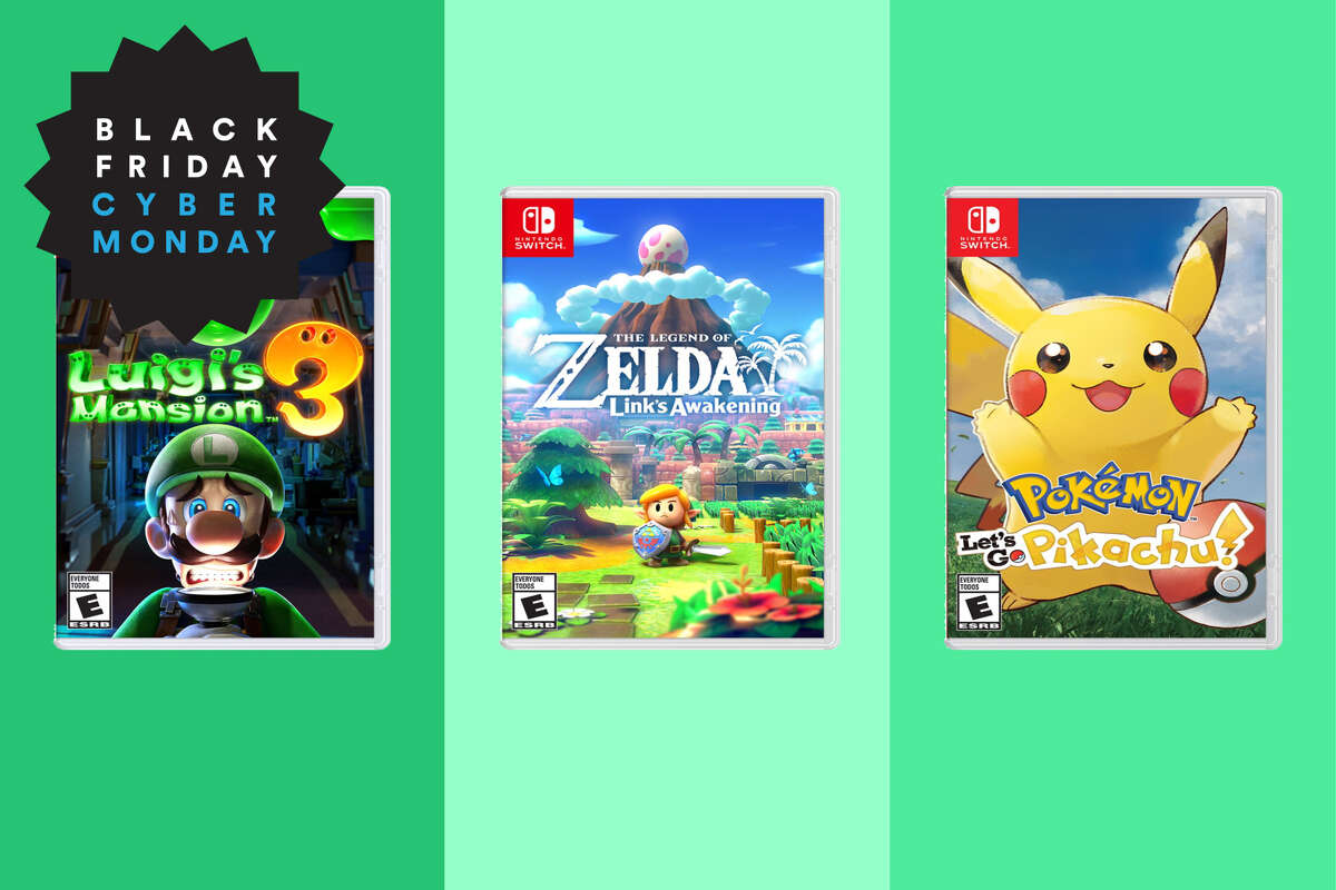 Walmart Black Friday Nitendo Switch Games, Select games marked down to $30