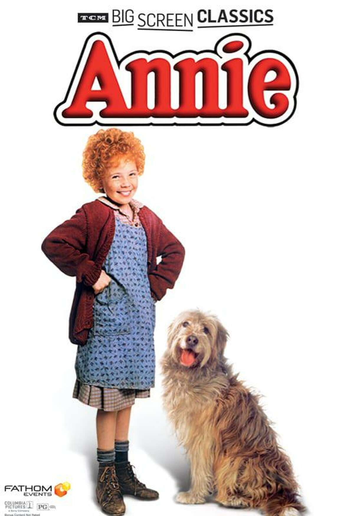 """""""Annie"""" will be screened at the Ridgefield Playhouse on Nov. 22."""