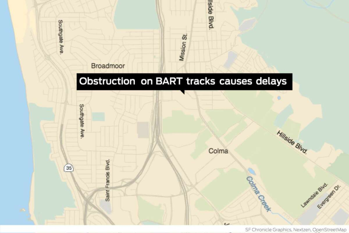 Equipment issues and track obstructions caused major delays on BART Tuesday during the afternoon commute, according to BART officials.