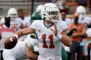 Sam Ehlinger and Texas travel to face Kansas at 2:30 p.m. Saturday.