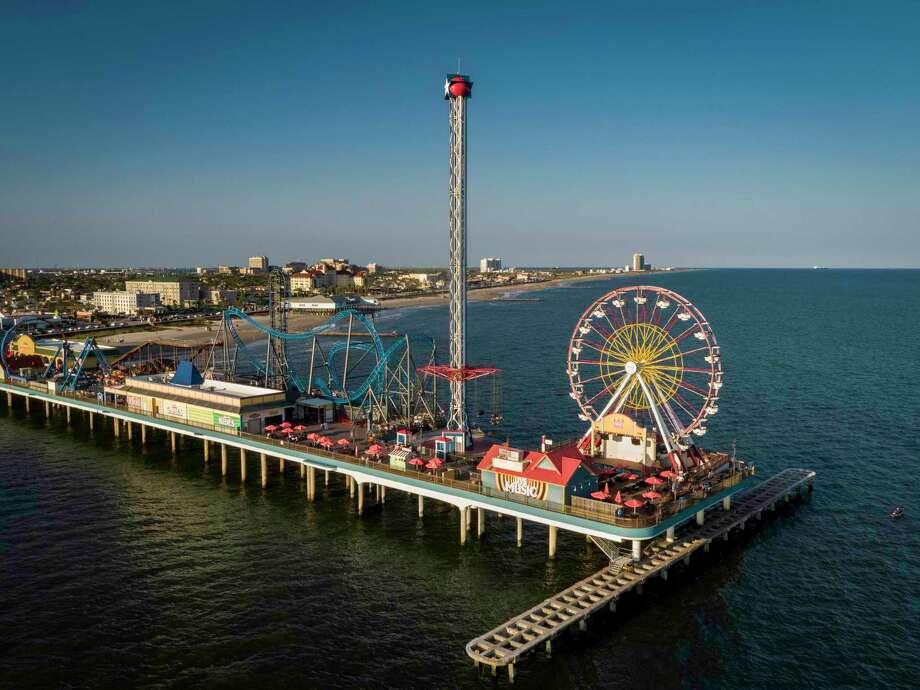 Galveston Island Historic Pleasure Pier. Photo: Lance Childers