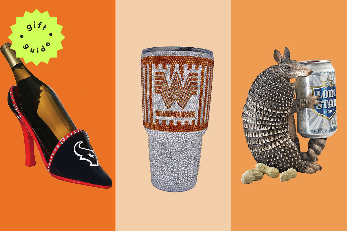 There is nothing more Texas than an $850, Swarovski crystals-studded Whataburger Yeti tumbler.
