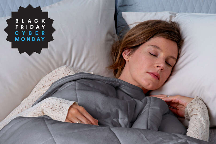 Tranquility Weighted Blanket 12lb, $17 at Walmart Photo: Walmart/Hearst Newspapers