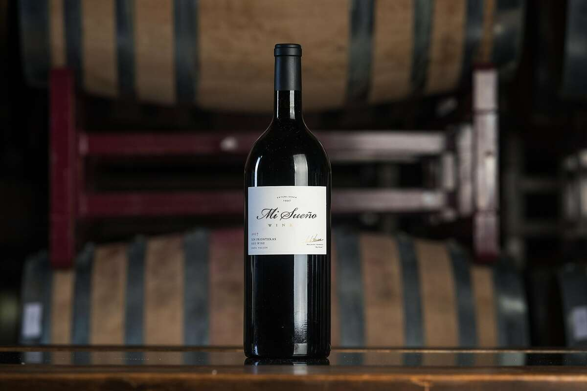 Mi Sueño Winery's 2017 Sin Fronteras means