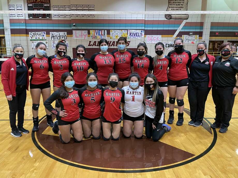 Martin swept Roma 3-0 on Tuesday in a play-in game to earn its first playoff berth since 2006. Photo: Clara Sandoval /Laredo Morning Times