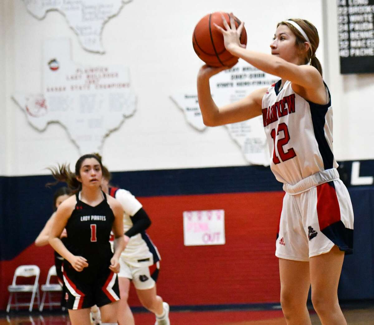 The Plainview boys and girls basketball teams each hosted Lubbock-Cooper in non-district contests on Tuesday, Nov. 17, 2020 in the Dog House at Plainview High School.