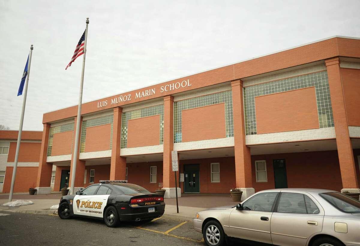 Luis Munoz Marin School in Bridgeport, Conn. on Wednesday, March 5, 2014.