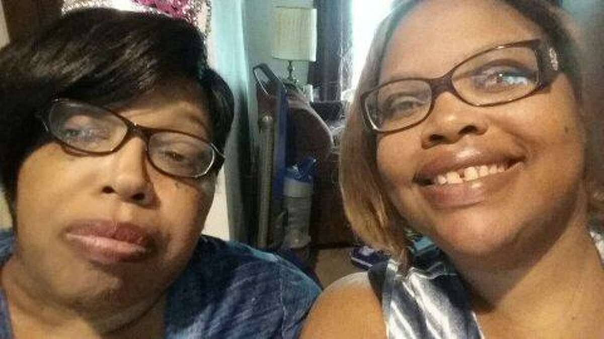 Andrea Aycock (right) with her late mother Andrea Yvonne Aycock around Mother's Day 2019. Earlier this year, Aycock's mother entered hospice and also received care from Anna Adams, an end-of-life doula in San Antonio. The elder Aycock died in May.