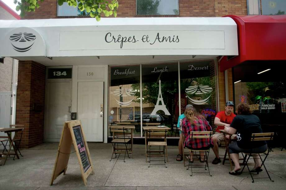 Crepes Et Amis, 130 Townsend St., Midland. Dine-in, take-out. 989-486-3120. www.crepesetamis.com (Daily News file photo)