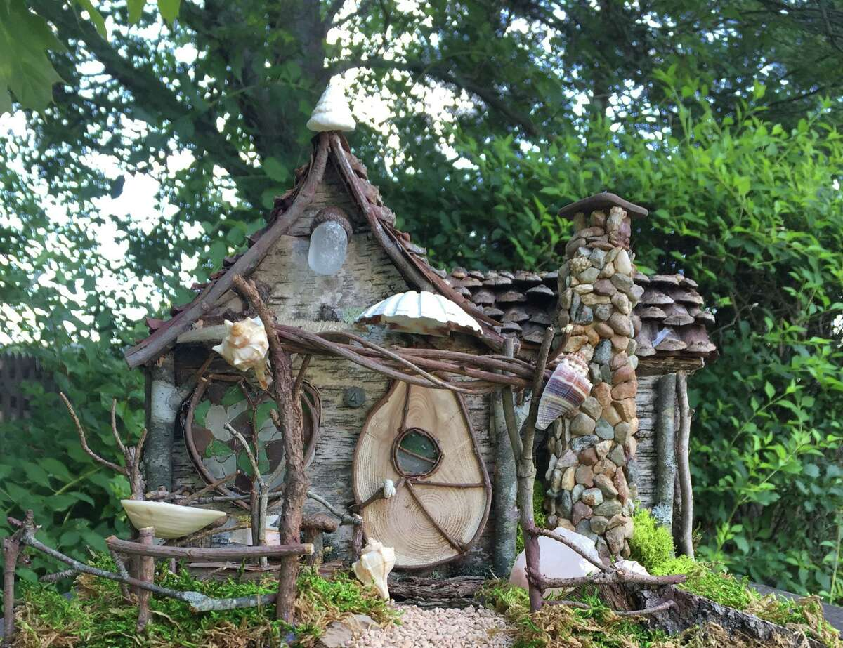 A fairy house that will be seen on Fairy House Lane at the Winter Wonderland Walk at Beardsley Zoo in Bridgeport.