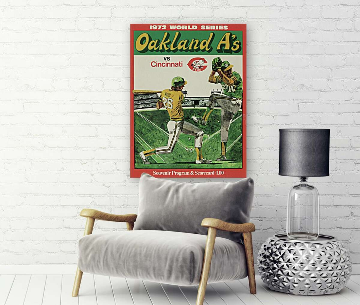 Etsy and eBay have lots of interesting and vintage sports merch for the Bay Area sports fan in your life.