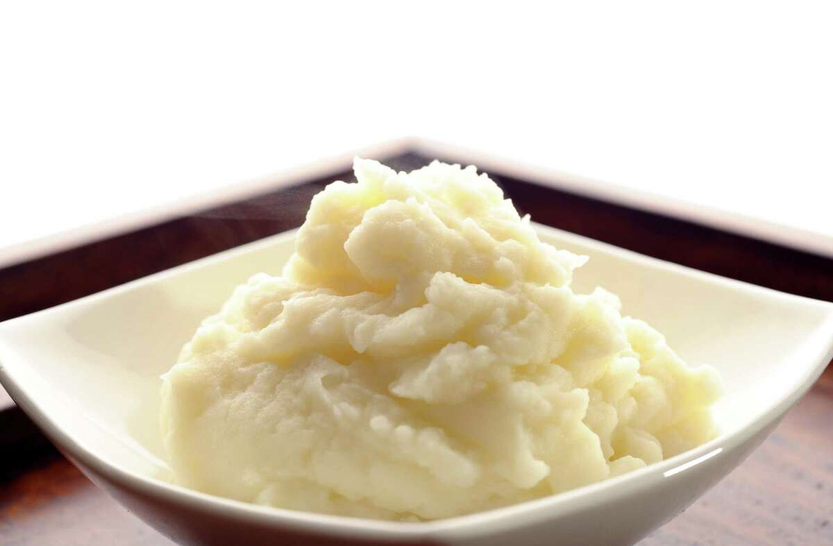 Celebrity chef Tyler Florence suggests cooking potatoes directly in cream for more flavorful mashed potatoes.