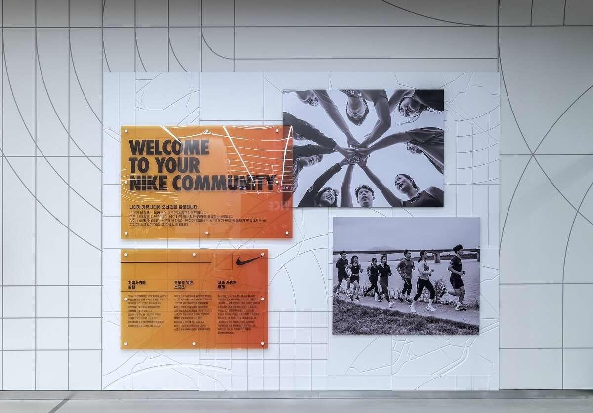 Element designs follow the theme of community, Nike says.