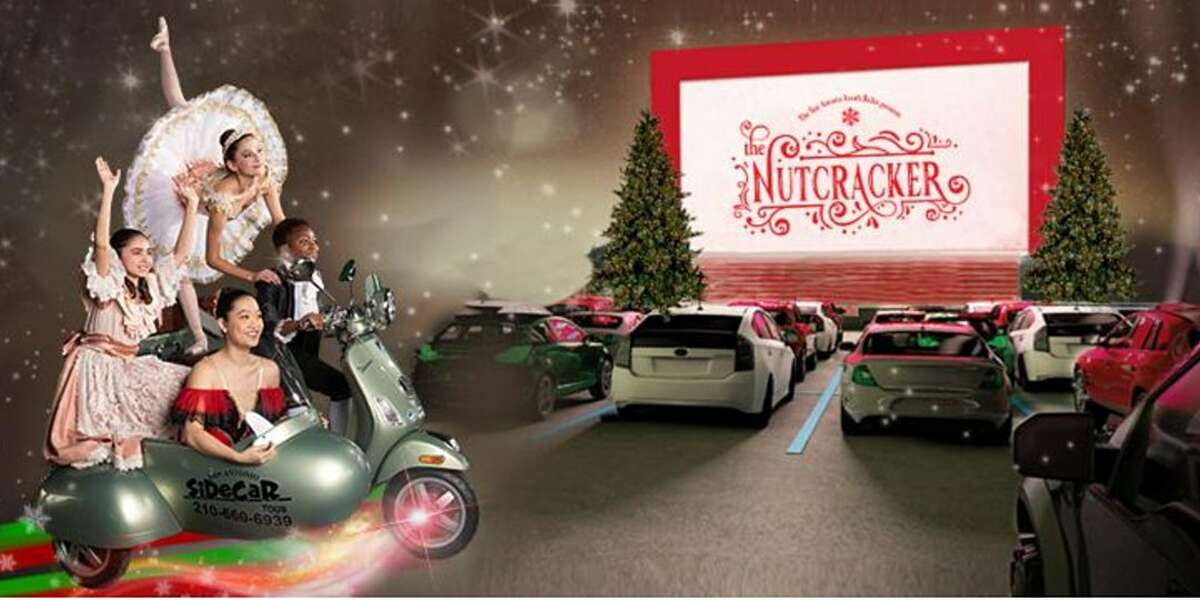 The San Antonio Youth Ballet is presenting the city's first drive-in rendition of the classic ballet Nutcracker this holiday season.