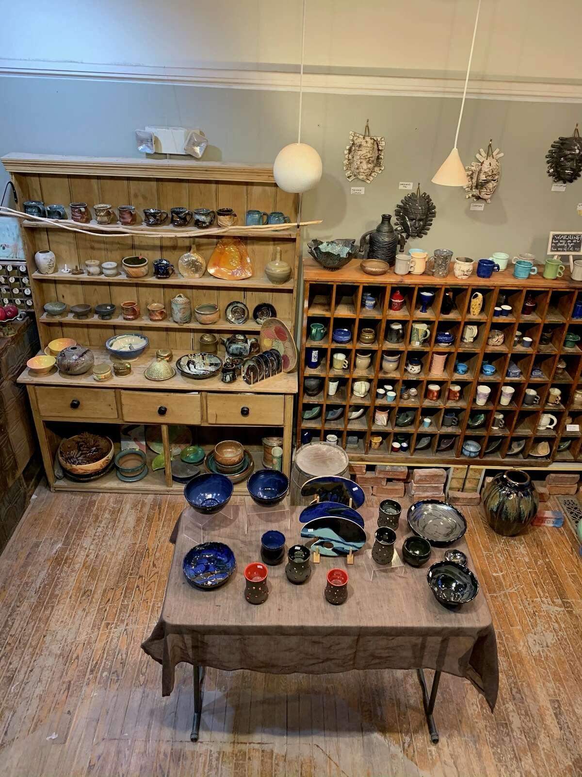 The Broken Mold Studio in Troy.