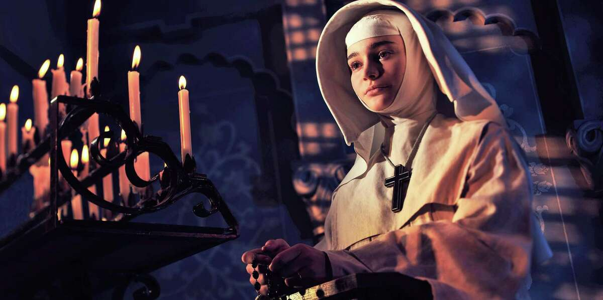 Aisling Franciosi portrays the troubled Sister Ruth in 'Black Narcissus.'.