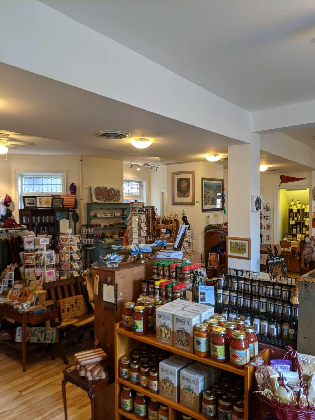 The Schenectady Trading Company interior.