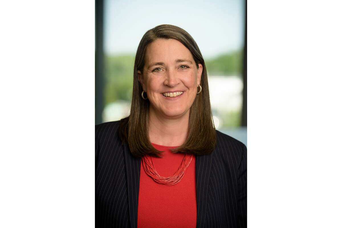 Patricia K. Poppe, whom PG&E named as the utility's next CEO on Wednesday, Nov. 18 2020. Poppe, the chief executive of a Michigan energy company, will assume the helm of PG&E on Jan. 4, 2021. Patricia K. Poppe