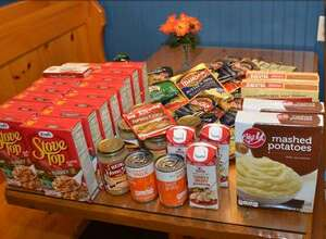 Students and staff from the Glenholme School in Washington are working together to brighten the Thanksgiving holiday for those in the community by collecting non-perishables.