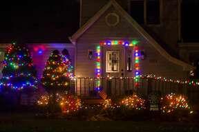Midland residents celebrate the holiday season with festive lights Tuesday, Nov. 17, 2020. (Katy Kildee/kkildee@mdn.net)