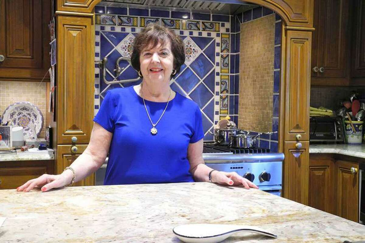 Sally Maraventano Kirmser, president of Stay at Home in Wilton, is going to stay at home in Wilton for Thanksgiving this year, with a smaller family gathering.