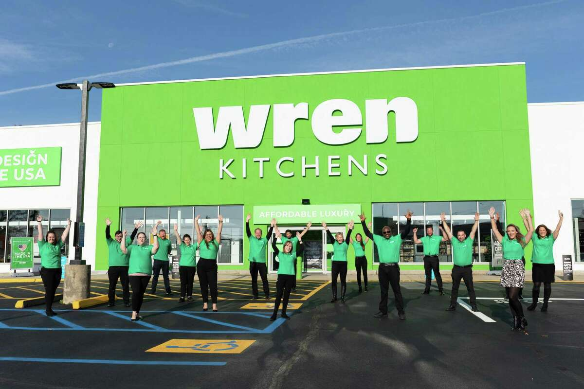 Wren Kitchens opens its first location in the U.S., in Milford.