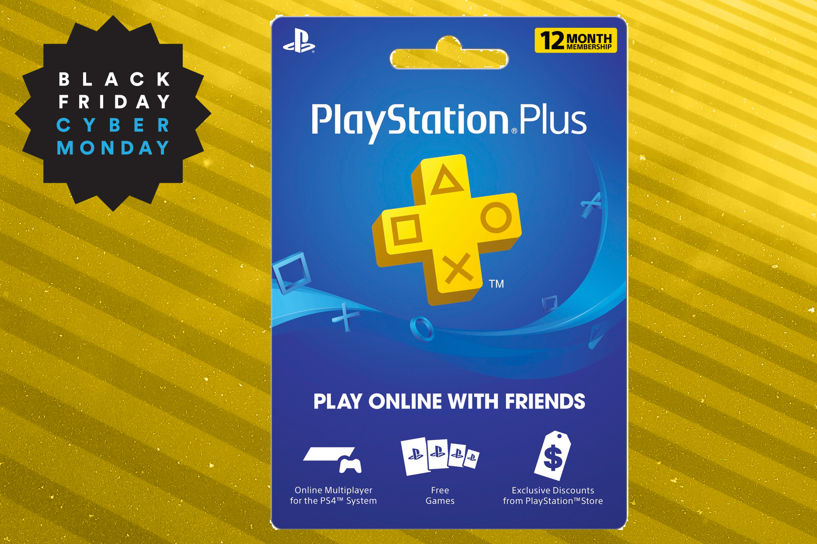 Get 12 months of PlayStation Plus for just $45 at Walmart