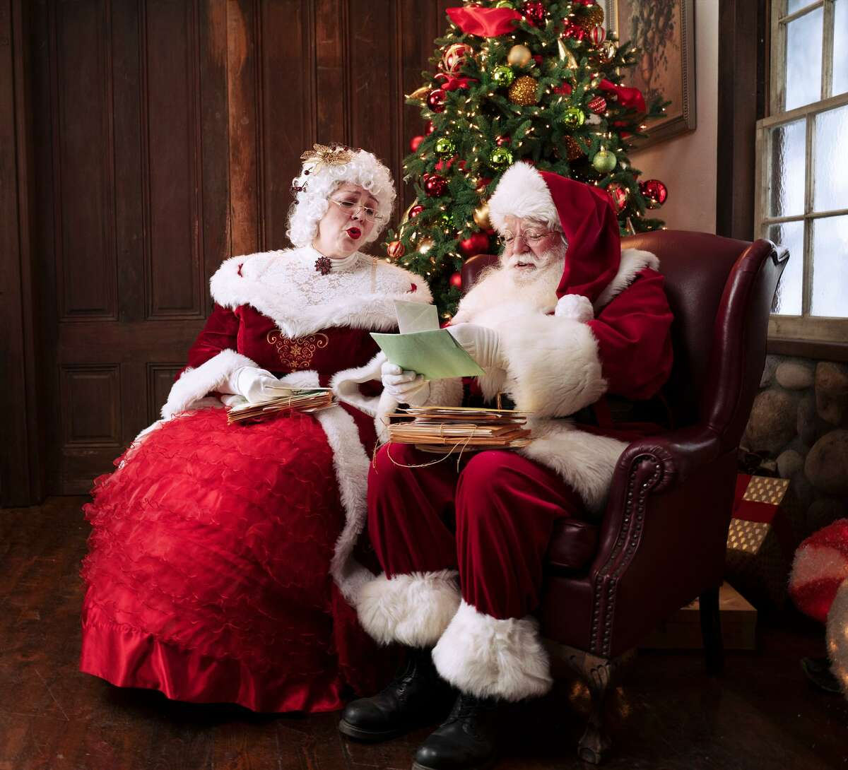 Santa and Mrs. Claus will be found in Santa - The Experience.