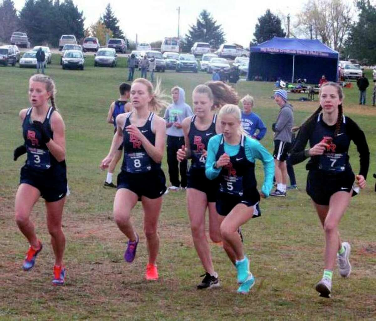 The Big Rapids boys and girls cross-country teams made strides during the 2020 season. (Pioneer file photo)