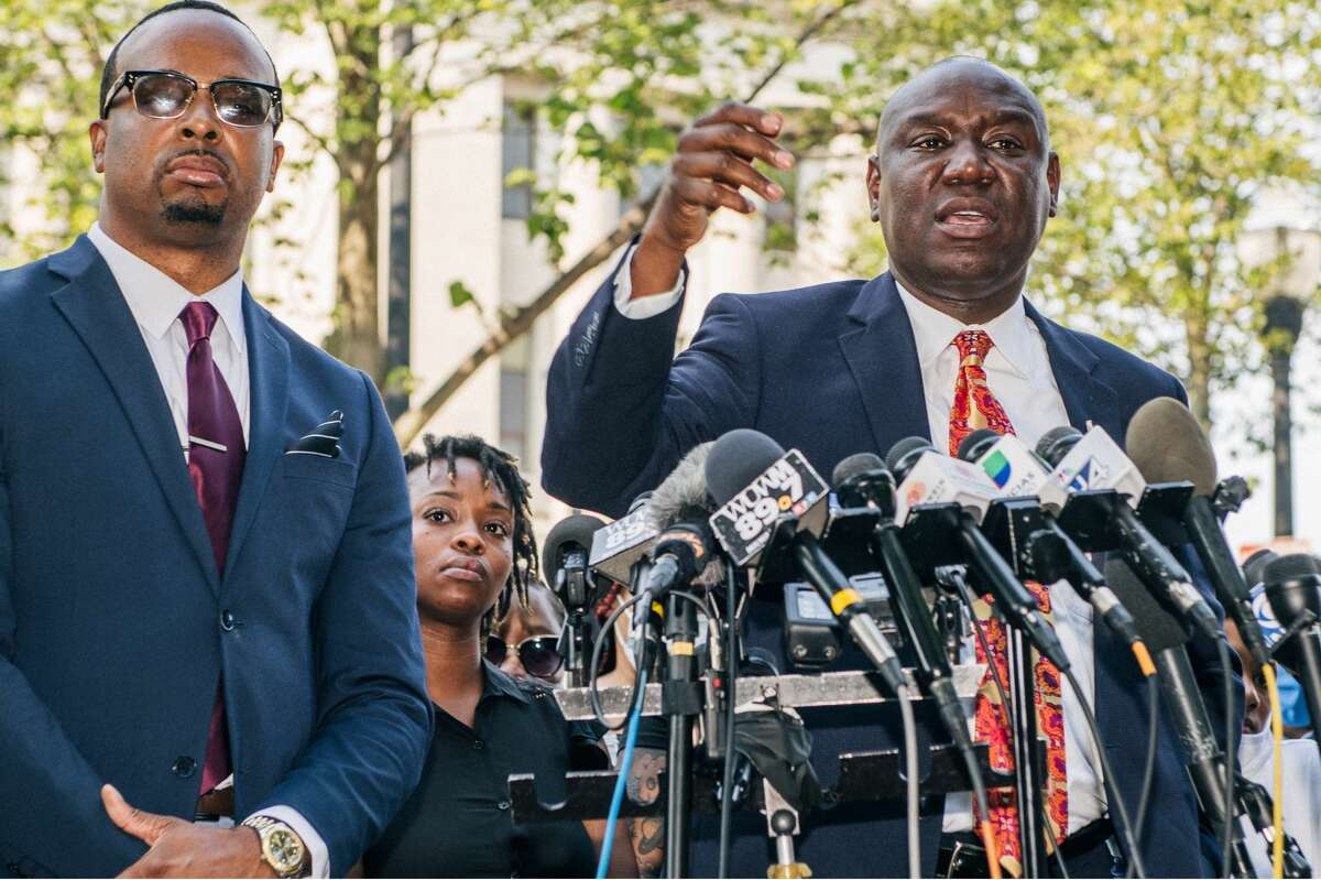 Notable civil rights attorney Ben Crump is questioning a San Antonio Police Department officer's justification of a shooting that led to the death of a 18-year-old Charles Roundtree in 2018.
