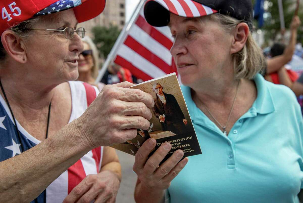 Some supporters of the president view him as a second phase of the American Revolution - a new founding