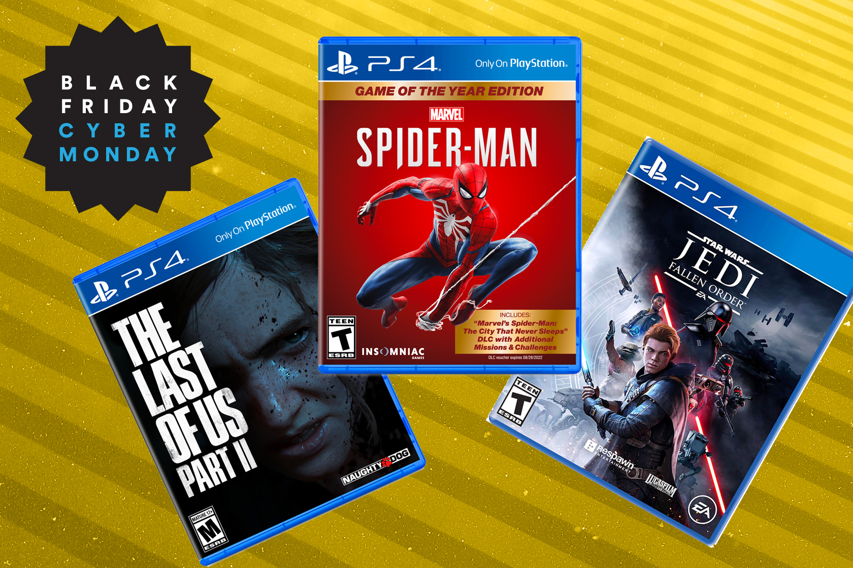 PlayStation 4 games are down to $15 for Black Friday at Walmart
