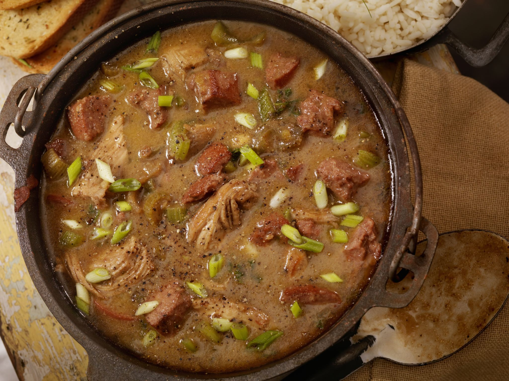 Turkey gumbo is the best part of Thanksgiving