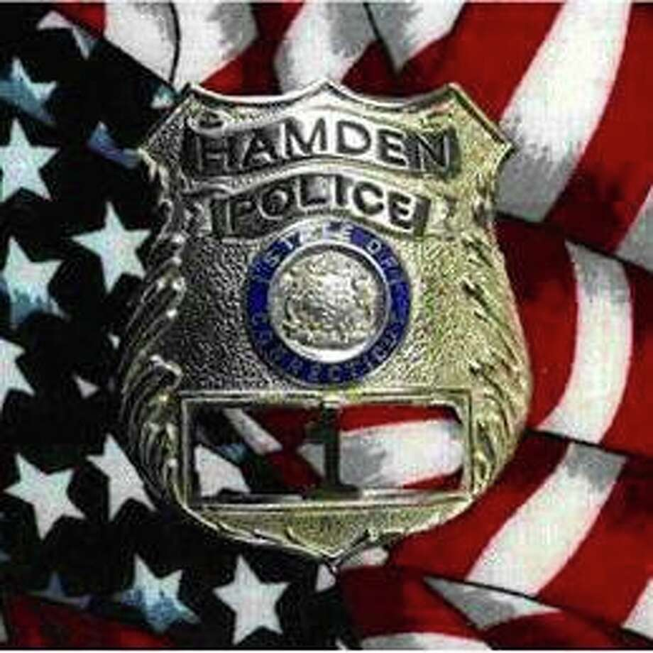 Hamden police are looking for the driver of a vehicle that struck seven vehicles and was last seen running from the scene with an infant in car seat on late Tuesday afternoon on Nov. 17, 2020. Capt. Ronald Smith said police later located the unharmed eight month-old infant, who was with family members. There were no serious injuries reported. Photo: Hamden Police Photo