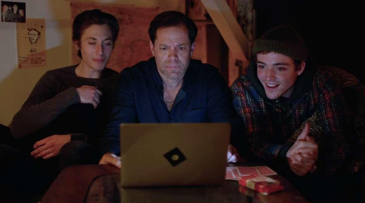 Chris Gaunt, center, with Clay Vanderbeek and Joey LaBrasca in
