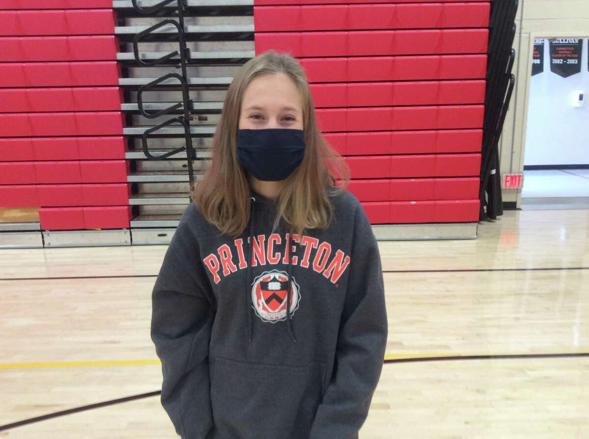 Mari Noble, a Greenwich senior, will compete on the track and field team at Princeton University.