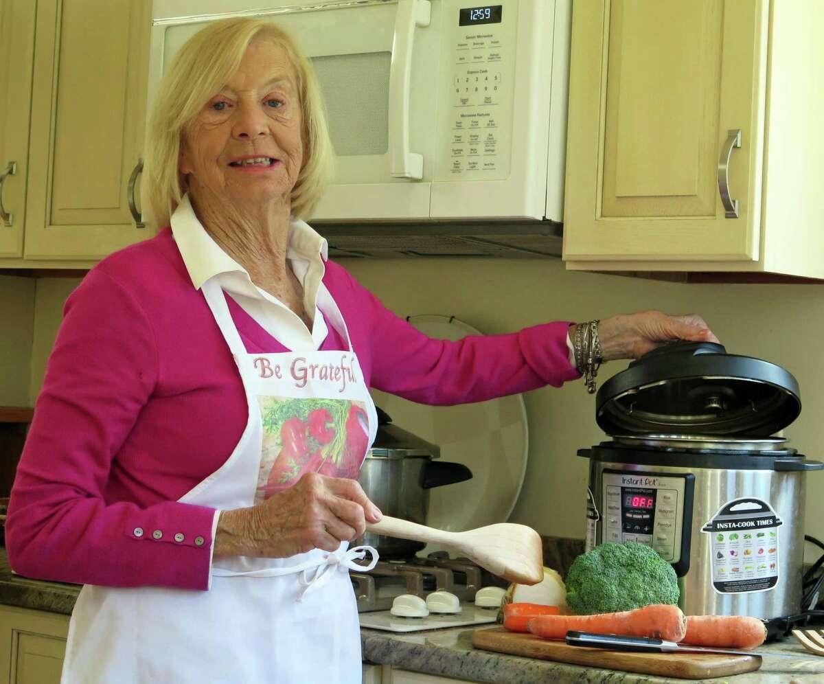 Home cook Virginia Baltay.