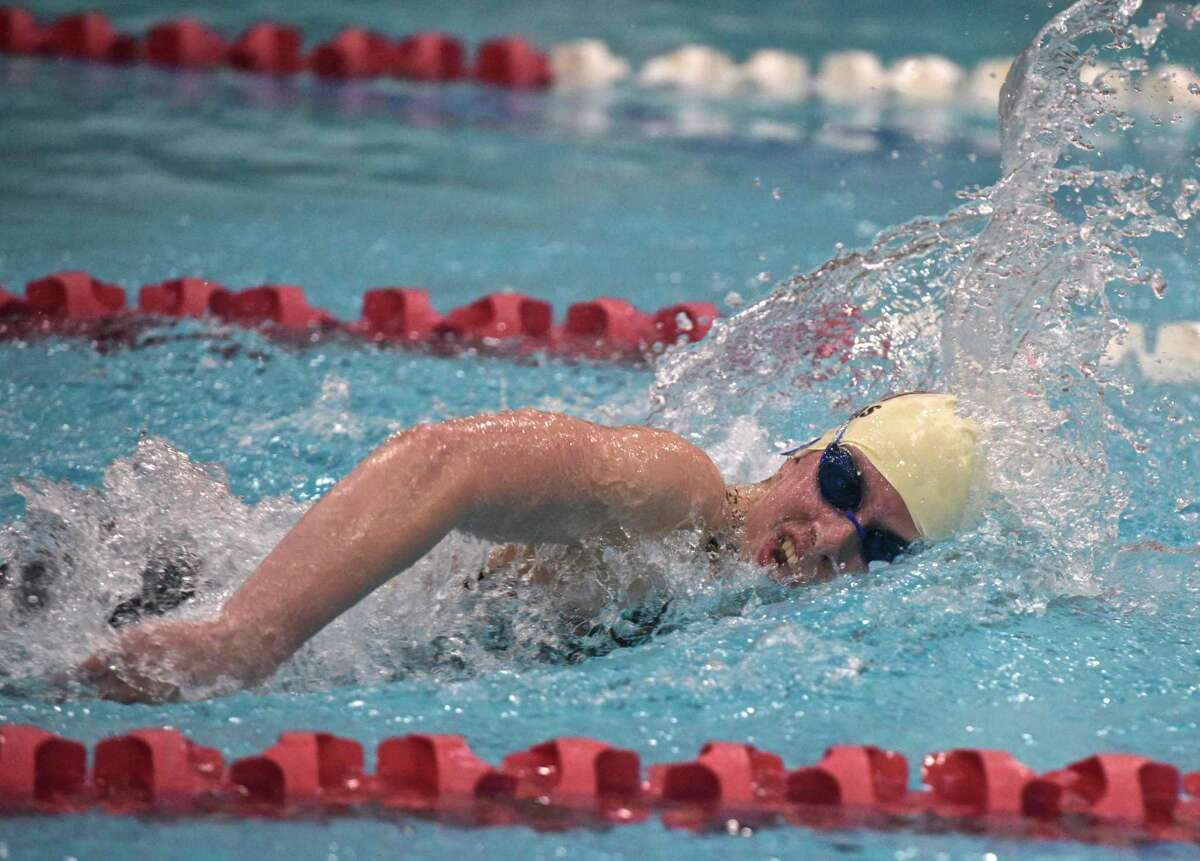 Weston's Alexa Pappas helped lead the Trojans to the SWC title.