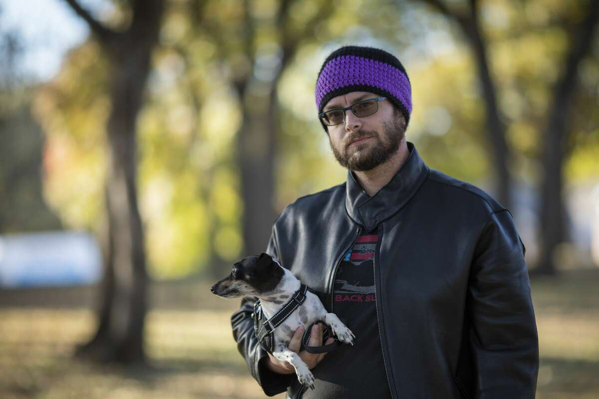 Eric Kohler, was charged with a 1st-degree felony after authorities arrested him for possession of a THC soda. The charge has been dropped and his record will be expunged but he is still awaiting the final paperwork. His dog Marley is a three-year-old of rat terrier and dachshund mix that Kohler found abandoned at the Texas Motor Speedway. Before Covid-19 restrictions Kohler took Marley to nursing homes as a therapy dog.