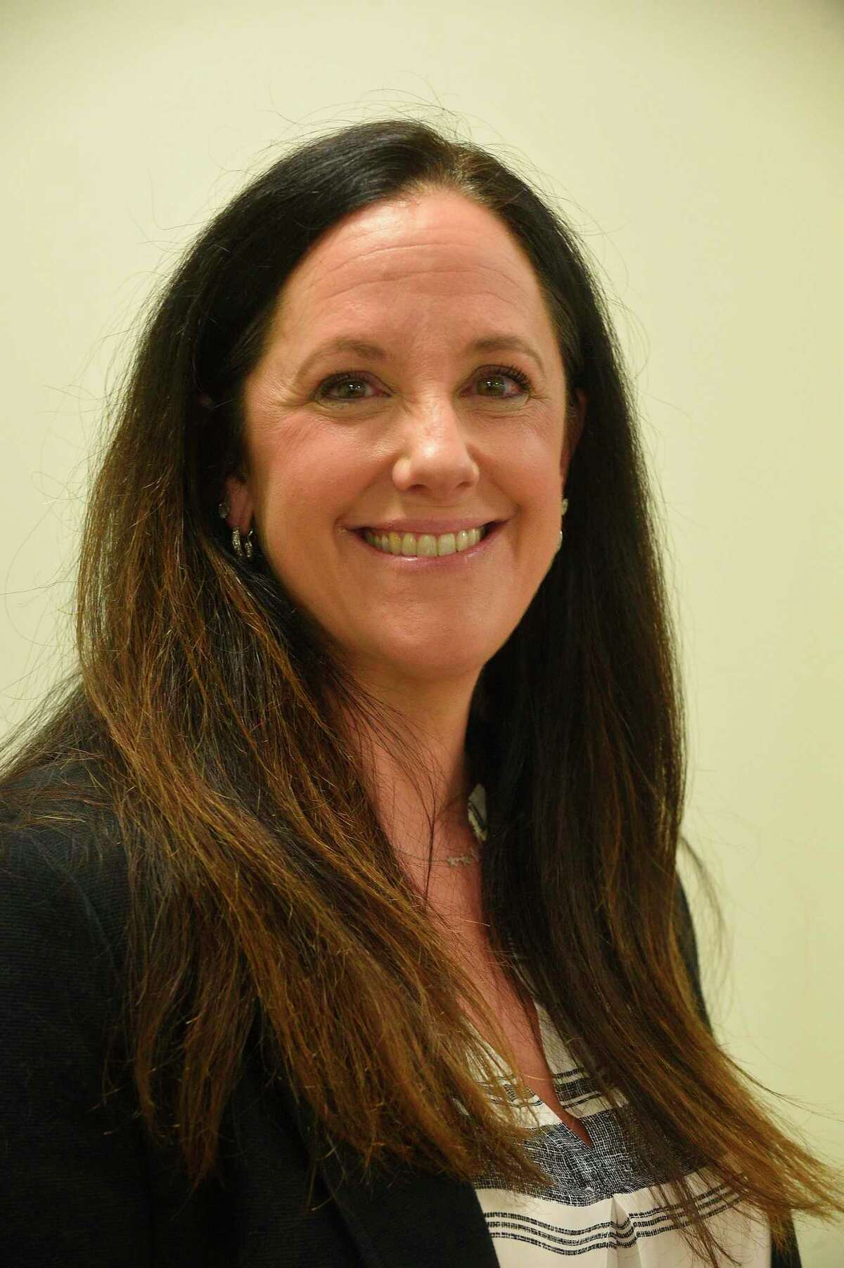 Karen Hirsh, a member of the Greenwich Board of Education Nov. 21, 2019.