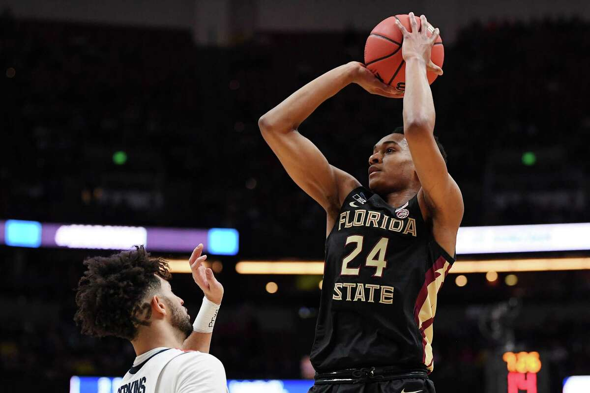 Florida State's Devin Vassell, a 6-foot-5 guard with 3-and-D potential, is the type of hardworking role player Spurs coach Gregg Popovich typcially covets.