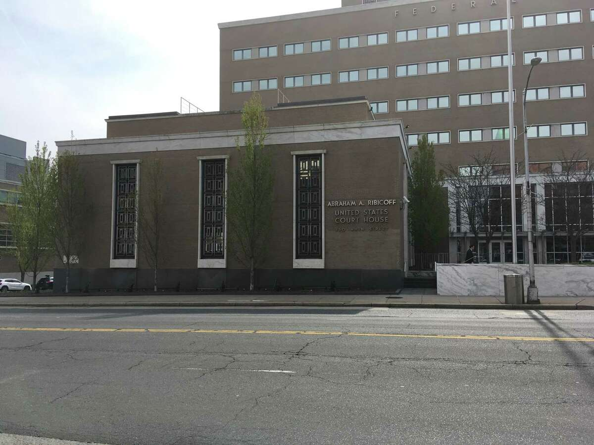 The federal courthouse at 450 Main St. in Hartford, Conn.